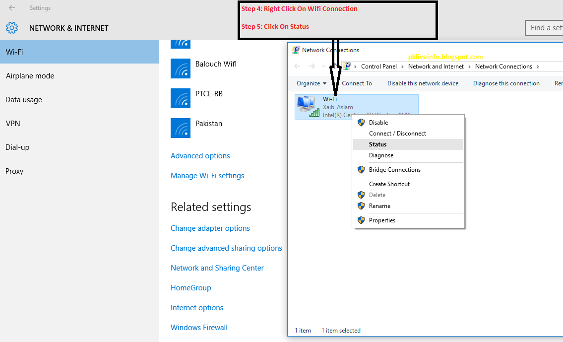 How to Change Wi-Fi Password in Windows 10