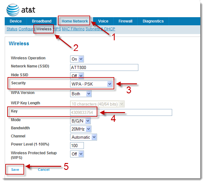 How to Change AT&T Wi-Fi Password